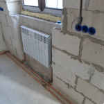 Отопление алюминиевыми радиаторами